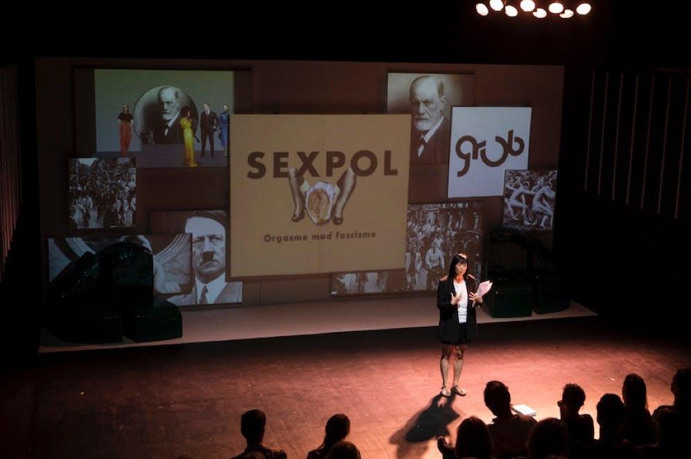 Foto fra Teater Grobs sæsonpræsentation